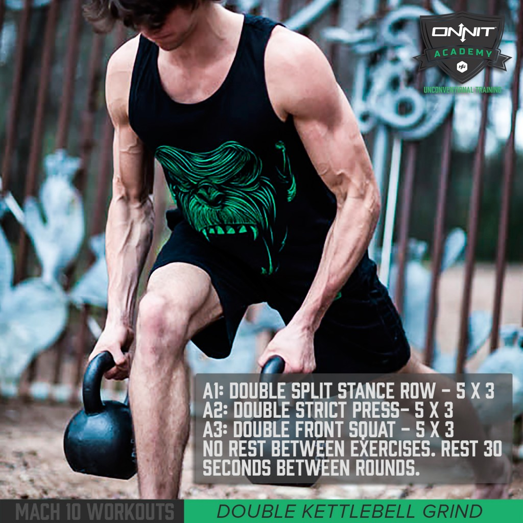 20 Minute Double Kettlebell Workout: Onnit Academy