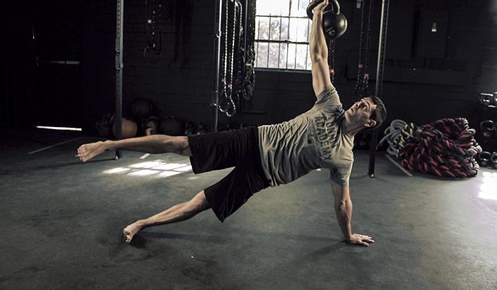 Extreme Full Body Strength Kettlebell Workout