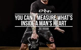 Workout Motivation: A Man's Heart