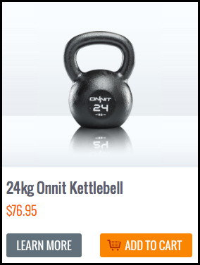 24 kg Onnit Kettlebells