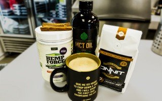 Onnit Cafe's Burn Fat-a-Latte Coffee Recipe