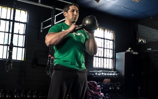 Core Strength Progression Kettlebell Workout