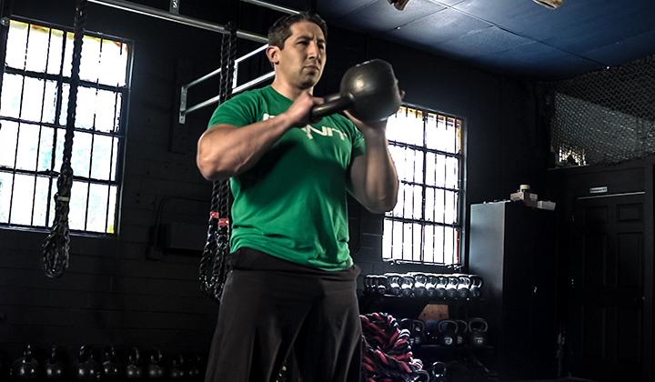 Core Strength Progression Kettlebell Workout
