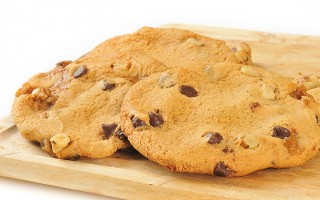 Flourless Salted Caramel Chocolate Chip Cookies Recipe
