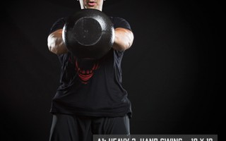 Mach 10 Workout: Heavy Kettlebell Swing 10x10x10