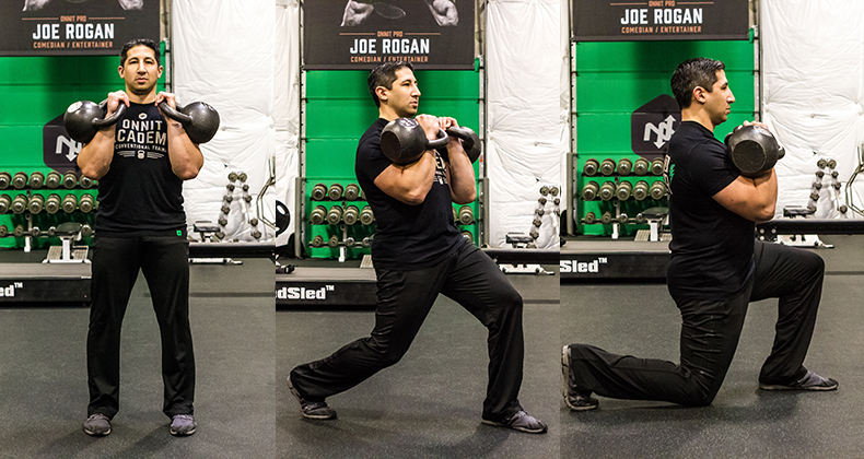 Rite of the Week: Kettlebell Reverse Lunge