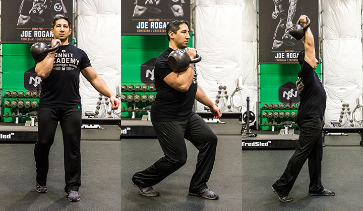 Skill of the Week: Kettlebell Staggered Stance Press