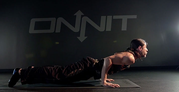 Push Up Variation #4: Dolphin Press to Cobra