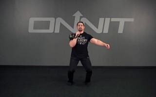 Kettlebell Exercise: Single Arm Jerk