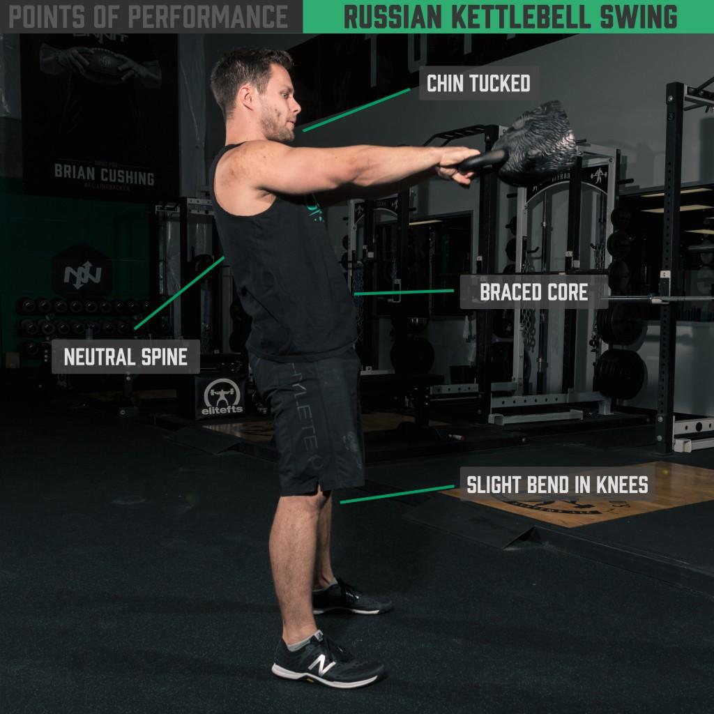 The Russian Kettlebell Swing