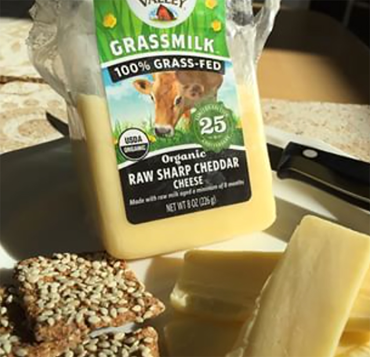 Grass Fed Raw Cheese