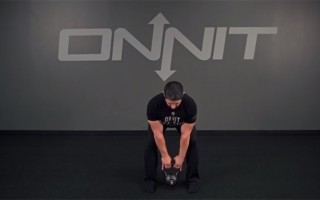 Kettlebell Exercise: Conventional Deadlift