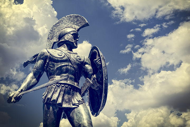 Ancient Rite of Passage #2: Spartans