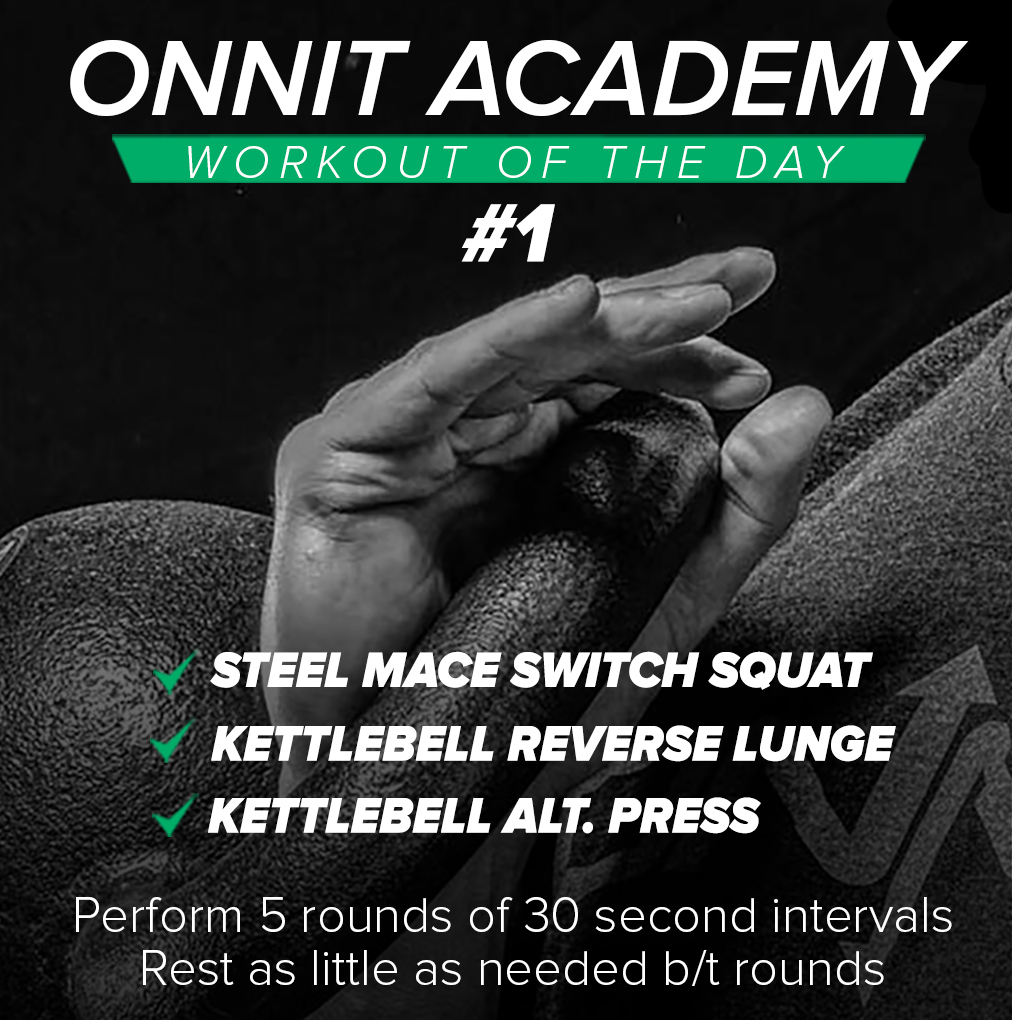 Onnit Academy Workout Of The Day #1