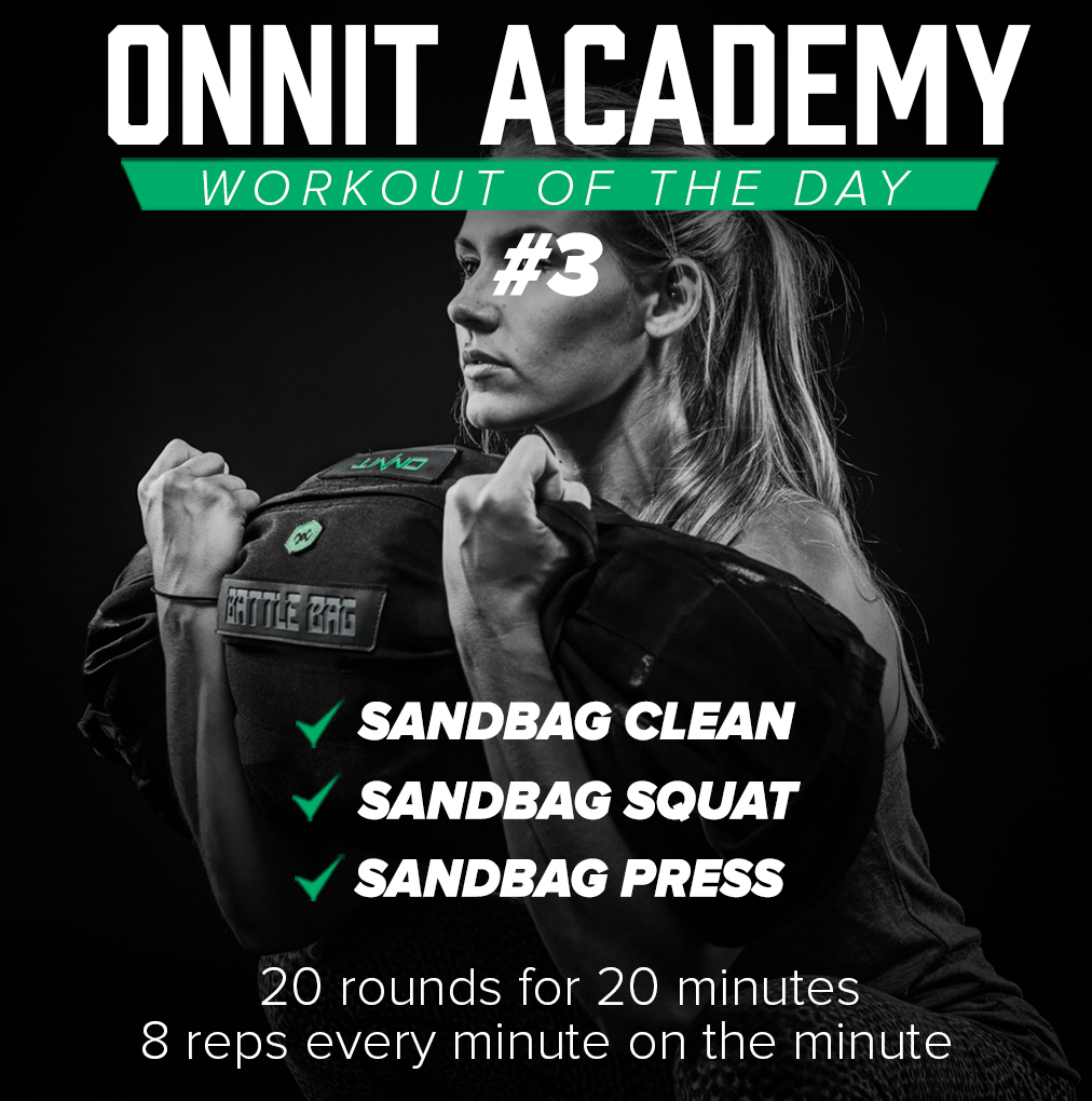 Onnit Academy Workout of the Day