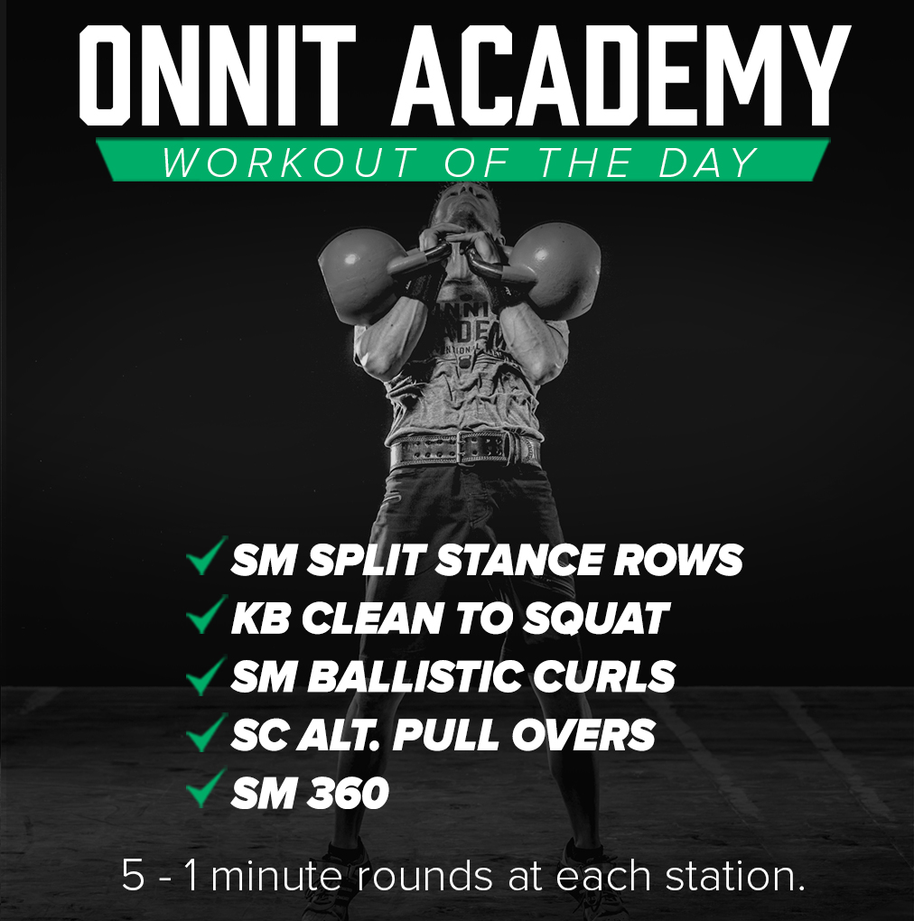 Onnit Academy Workout Of The Day 15