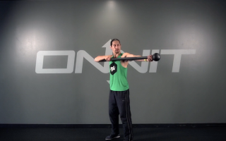 Bicep Shovel Extension Steel Mace Exercise