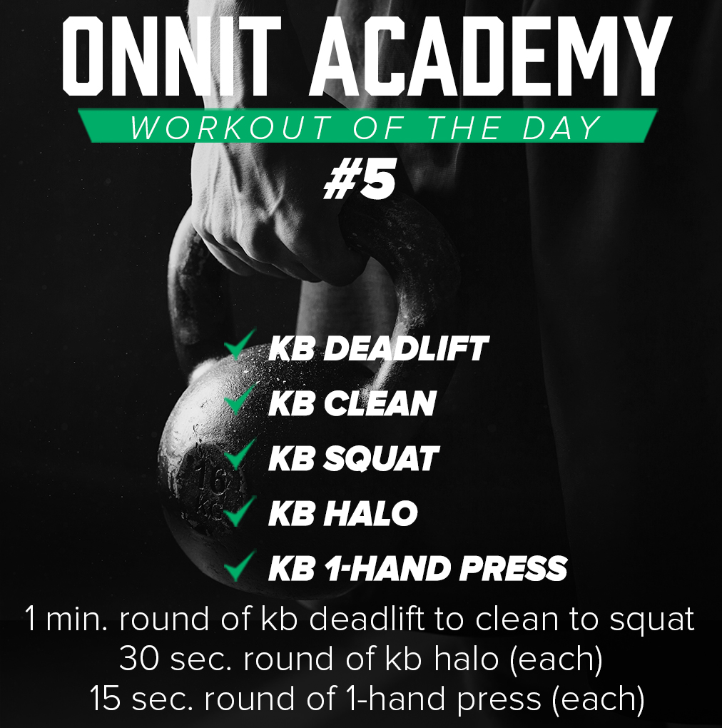 Onnit Academy Workout Of The Day #5