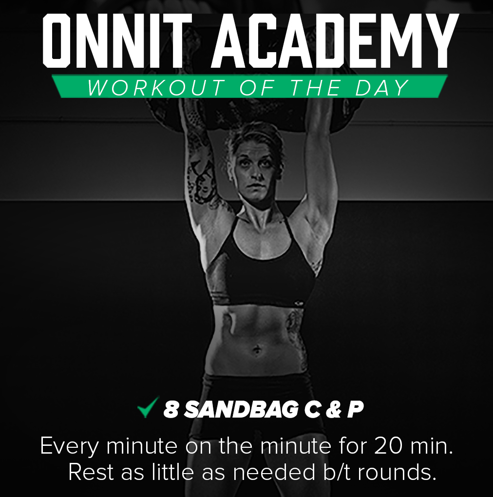 Onnit Academy Workout Of The Day #24