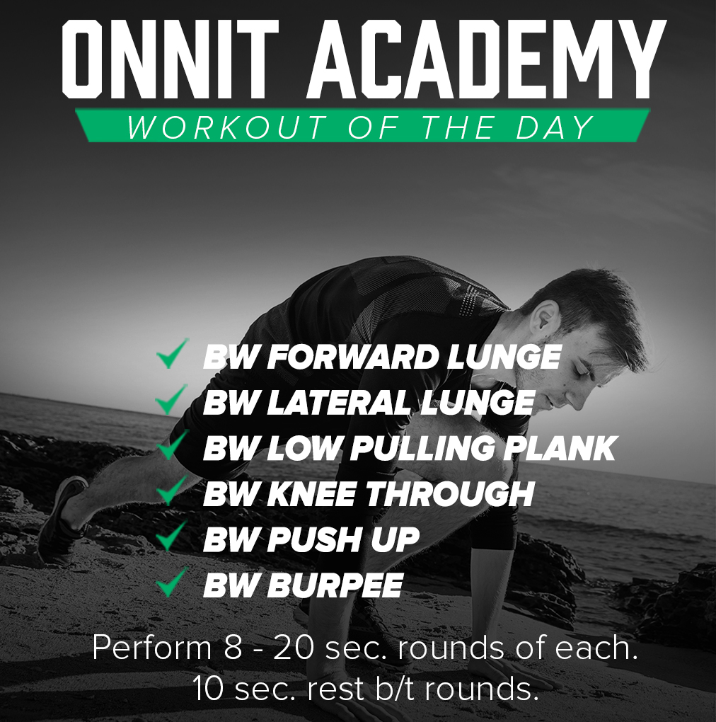 Onnit Academy Workout Of The Day #36