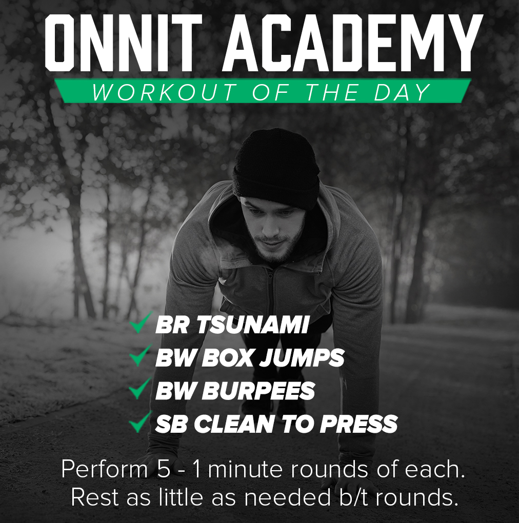 Onnit Academy Workout of the Day #34 - Mixed Implement Workout