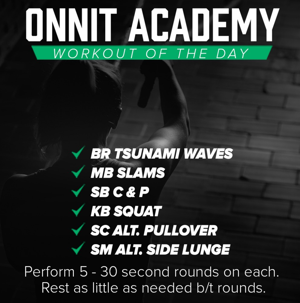 Onnit Academy Workout of The Day #20 - Super Fan Workout