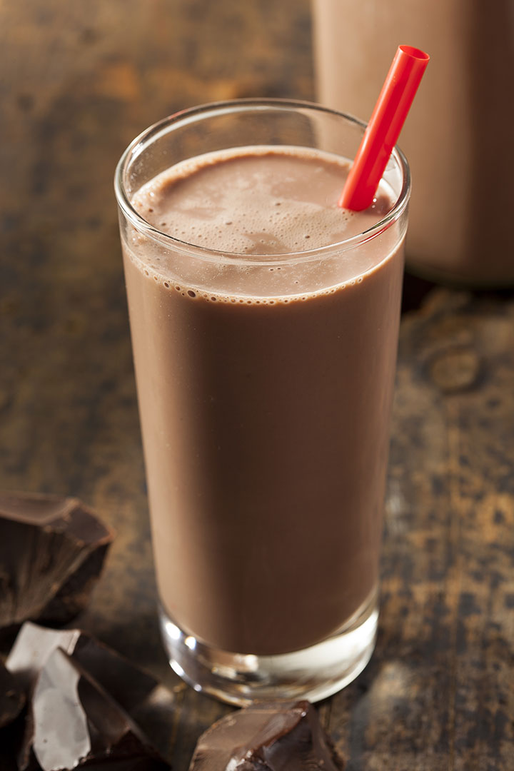 chocolate milk recovery drink