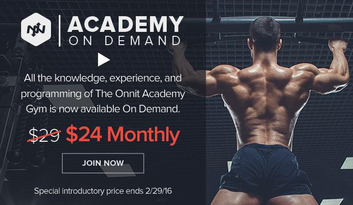 Onnit Academy On Demand