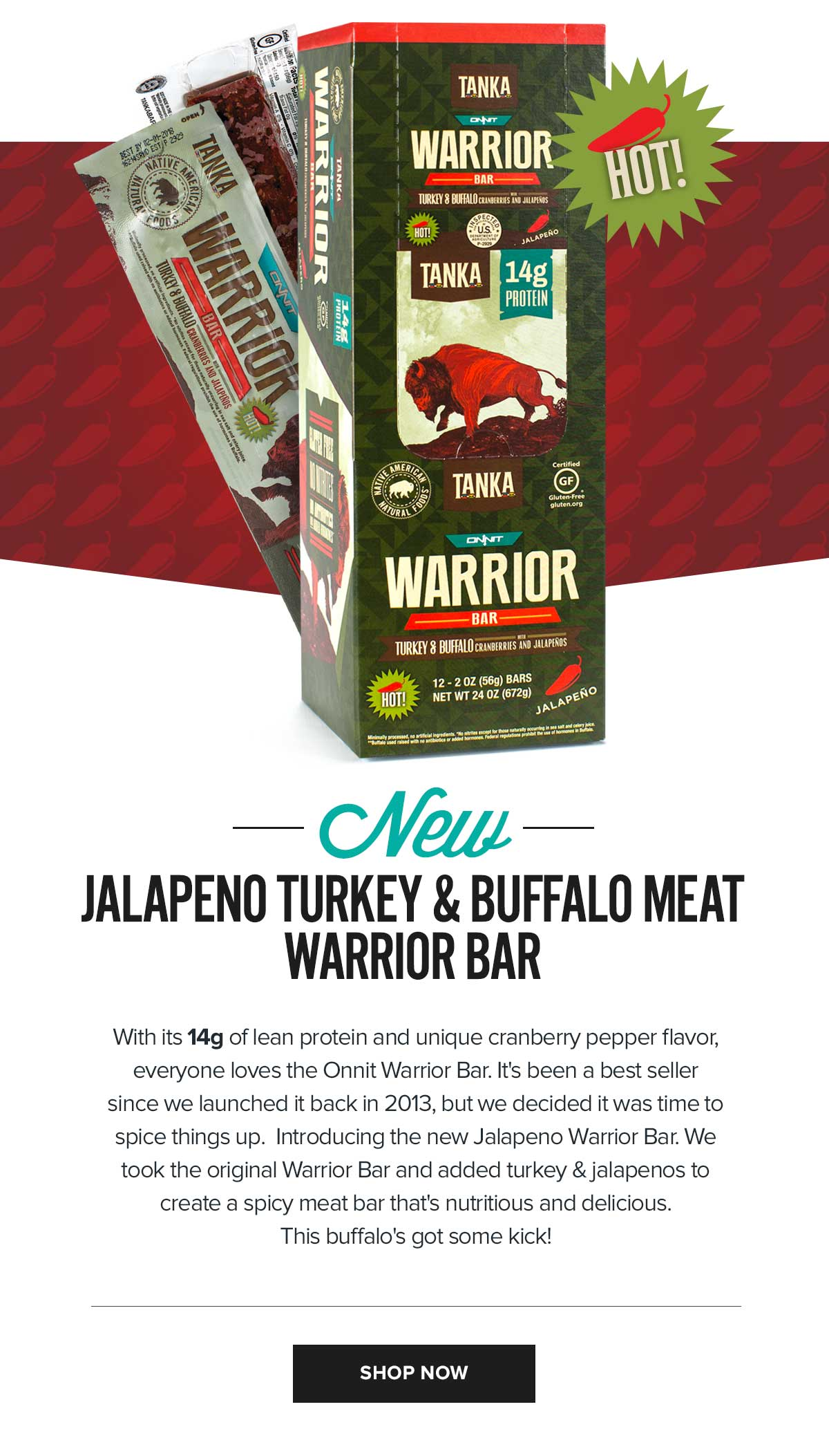 Onnit Warrior Bar