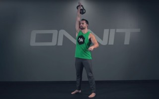 1-Arm Deadstart Snatch Kettlebell Exercise
