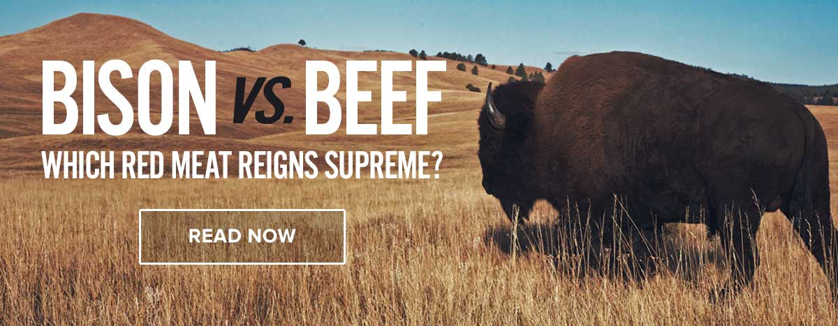Bison meat nutrition vs beef recipes