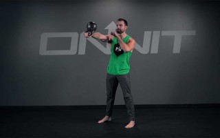 1-Arm Flip Swing Kettlebell Exercise