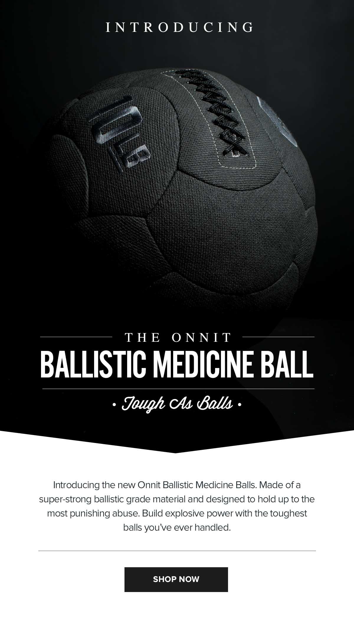 Onnit Ballistic Medicine Balls