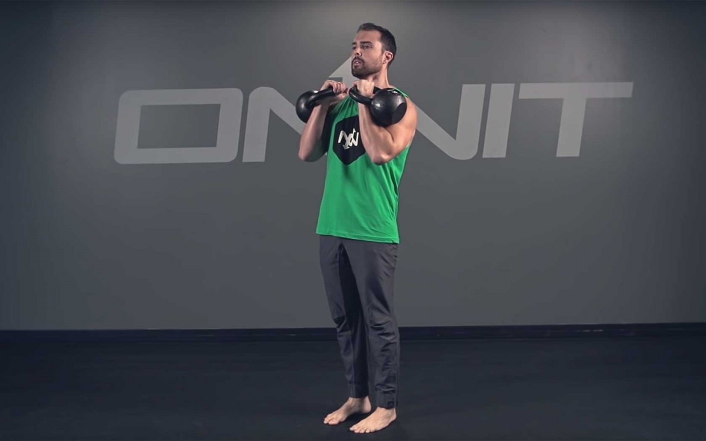 Double Outside Kettlebell Clean Exercise
