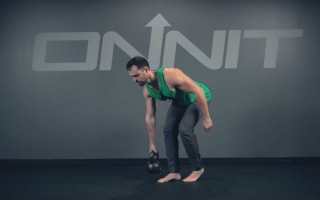 One Arm Staggered Stance Row Exercise