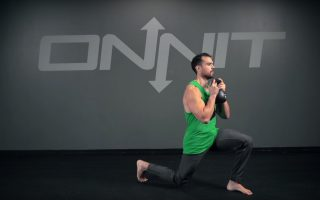 Kettlebell Goblet Split Squat Lunge Exercise