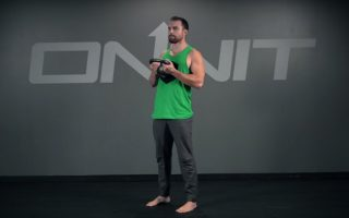 Kettlebell Chest Supported Hinge Exercise