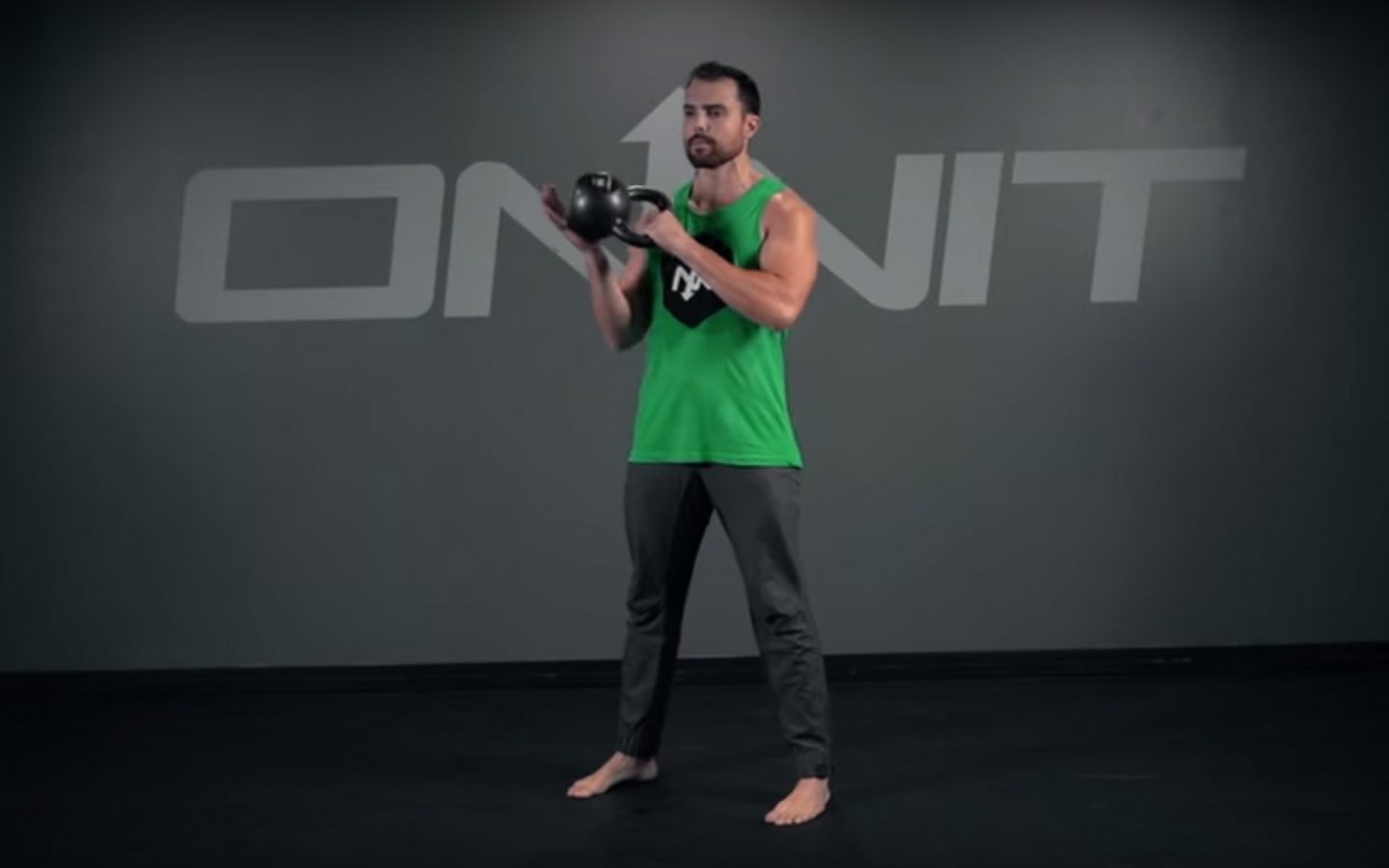 Kettlebell Figure 8 to Hold Exercise
