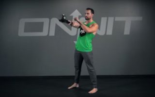 Kettlebell One Arm Rotational Swing Exercise