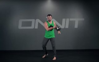 Kettlebell One Arm Rotational Snatch Exercise