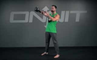 One Arm Kettlebell Swing Exercise