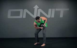 Kettlebell Twisting Hip Hinge Exercise