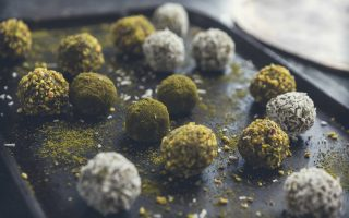 Matcha Chai Pistachio Balls Recipe