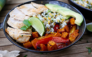 Paleo-Friendly Burrito Bowl Recipe