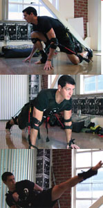 Bodyweight training and testing with the MASS Suit.