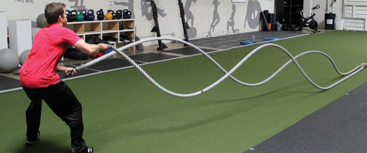 how to start battle ropes