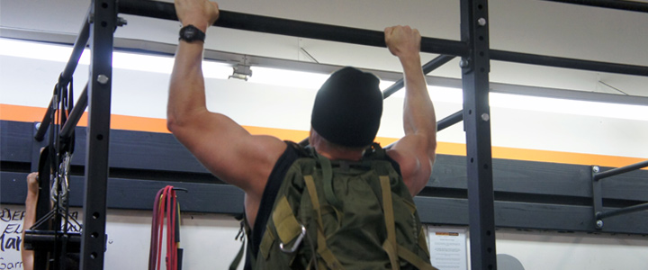 Warrior Workout Weighted Pull Ups