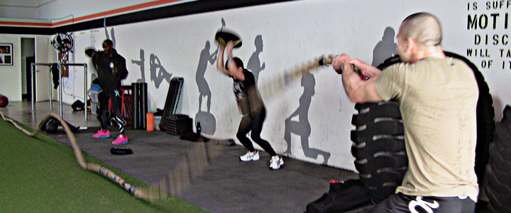 Want to improve your MMA training? It's time to get in the gym!