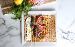 Kofte Kebabs with Tzatziki Yogurt Sauce Recipe